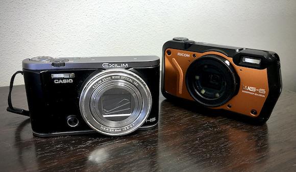 我家のデジカメ達